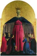 Piero della Francesca, Madonna della Misericordia, 1445 - 1462, Museo Civico, Sansepolcro