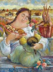 Manelli, La madre, il pane