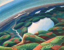 Gerardo Dottori, Virata su fiumi, lago, mare,1934