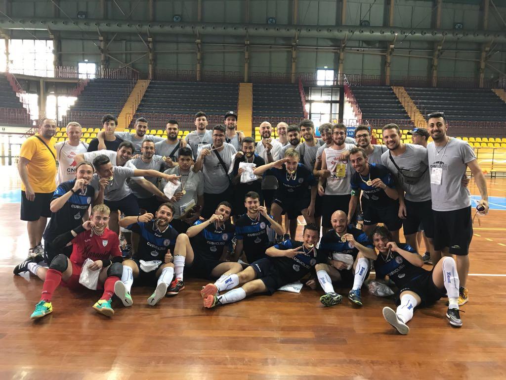 Calcio a 5 - Trionfo Cus Molise ai Campionati Nazionali Universitari in Sicilia