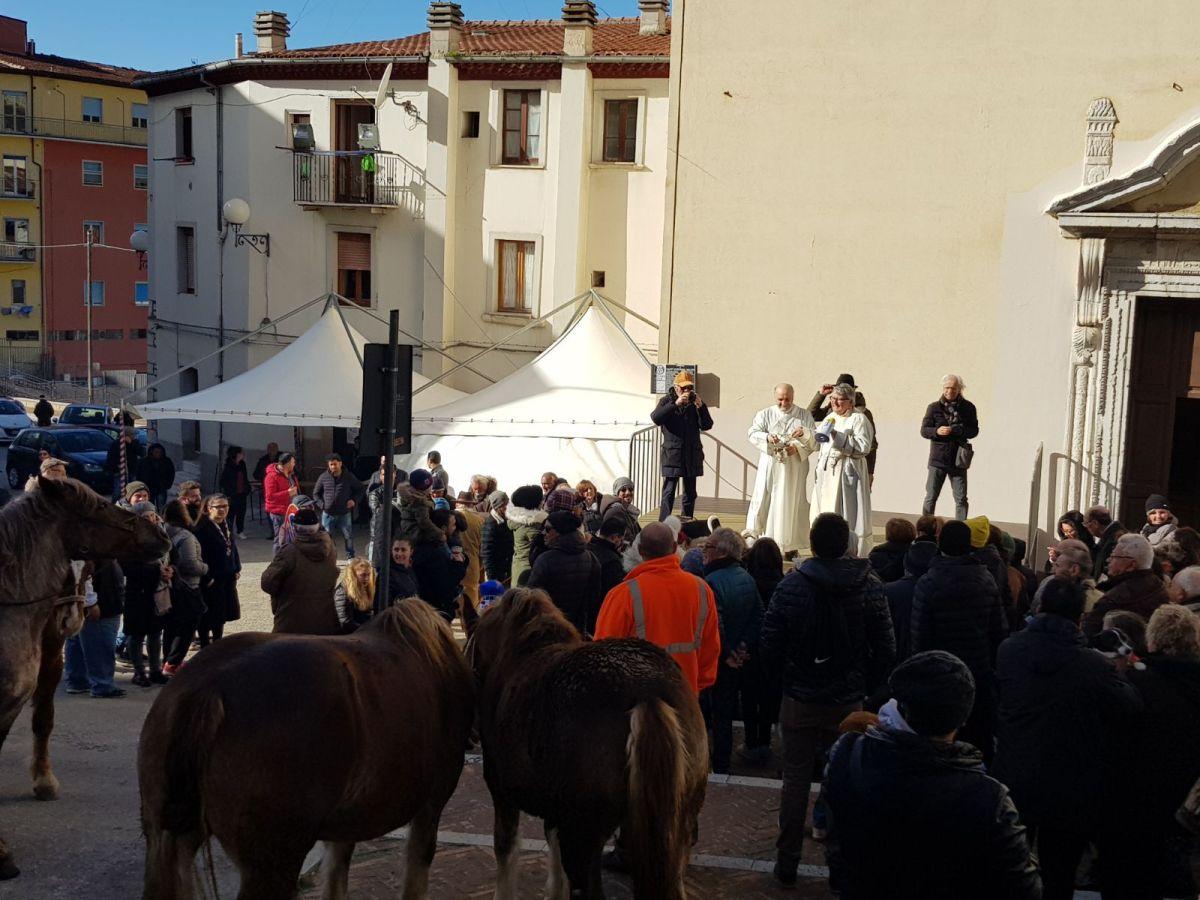 La festa di Sant'Antonio Abate apre il periodo del Carnevale