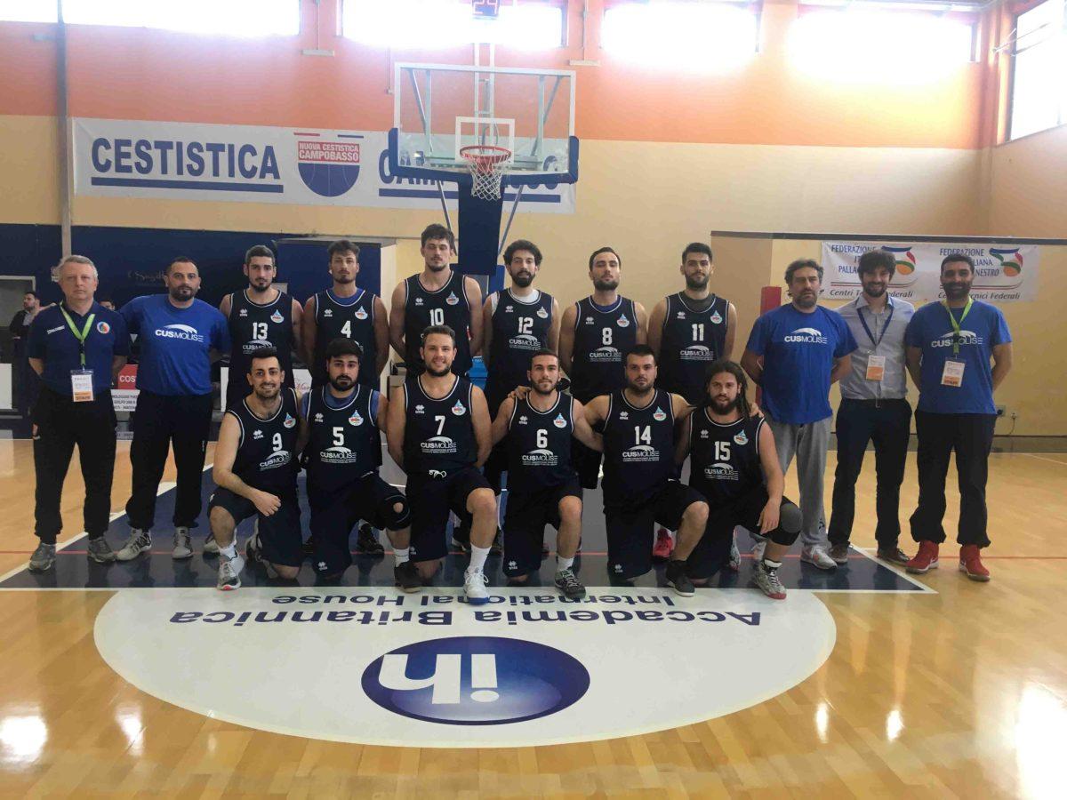 Basket, Cus Molise ancora in semifinale. Nel pomeriggio sfida al Bologna