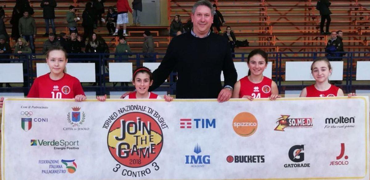 Join the Game, a Jesolo anche quattro atlete della Minerva Basket