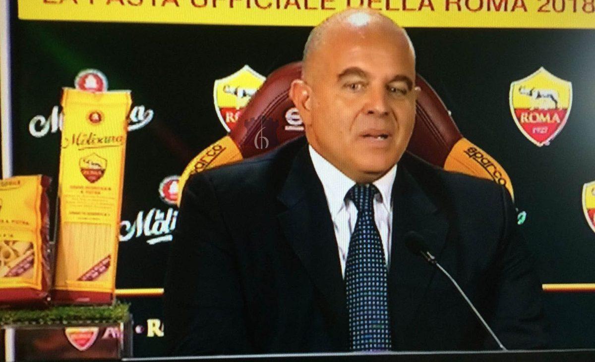 """AS Roma-La Molisana, Giuseppe Ferro: """"Ambiente incredibile, vicinanza immediata. Puntiamo ad arrivare sulle maglie giallorosse"""""""