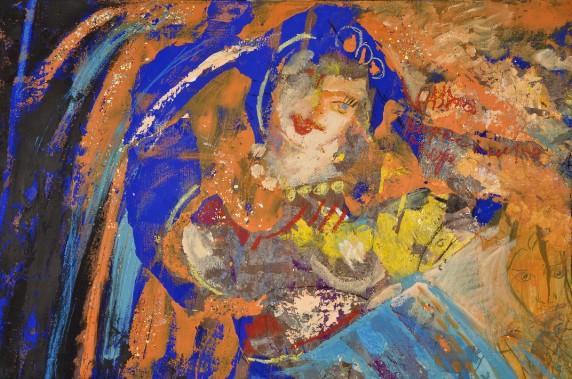 """Gabriella Capodiferro, luce, acqua, vento. Una personale dell'artista abruzzese alla """"Galleria Arianna Sartori"""" di Mantova"""