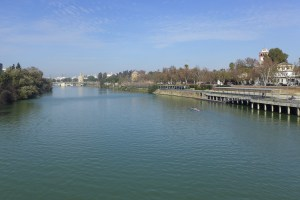 River of Sevilla with Tower of Gold in background