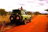 Safari au Tsavo - Golf safari plage Leisure lodge Diani Beach Kenya