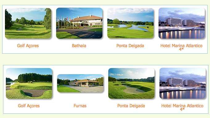 Voyage séjour golf aux Açores au Portugal