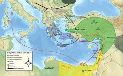 海の民の侵攻ルート 古代ギリシア史 1 エーゲ文明〜ヘレニズム時代