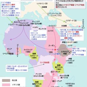 59.アフリカ・太平洋諸地域の分割