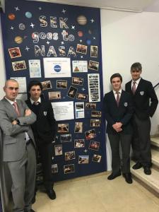 Proyecto NASA Stage y proyectos científicos presentes en el SEK Open Day