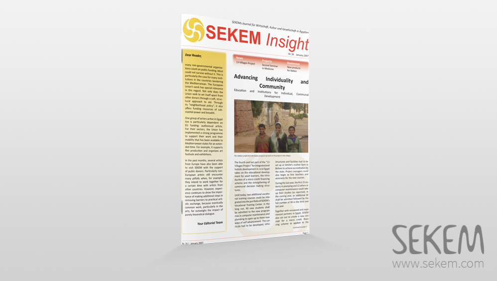 SEKEM Insight –2007 –English