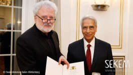 Staufermedaille for Dr. Ibrahim Abouleish