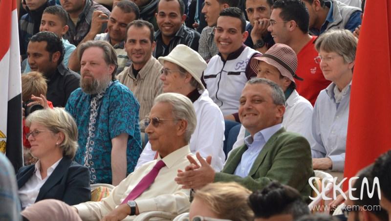 Ambassador Austria Dr. Stillfried and Dr. Abouleish SEKEM Spring festival 2016