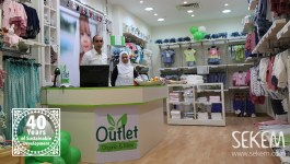 Opening of the new Outlet by Organic & More
