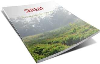 SEKEMs Report on Sustainable Development 2016