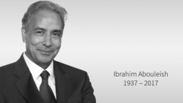 Dr. Ibrahim Abouleish, founder of SEKEM, black white 2017