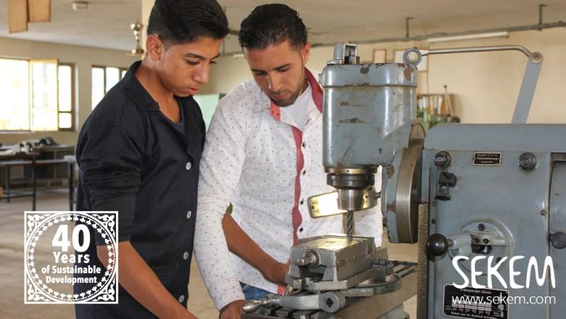 Student and Teacher at SEKEMs VTC