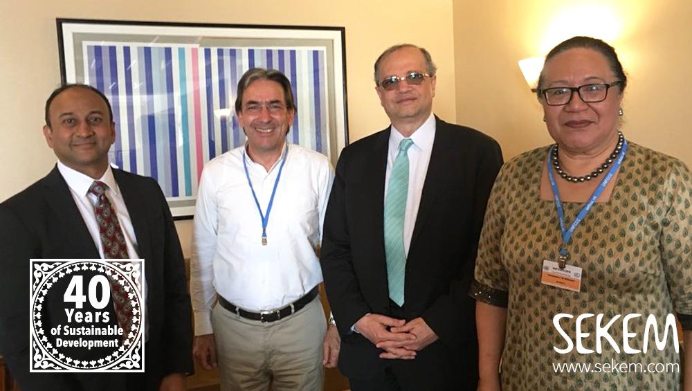 Helmy Abouleish wird UN-Champion für Kampf gegen Klimawandel