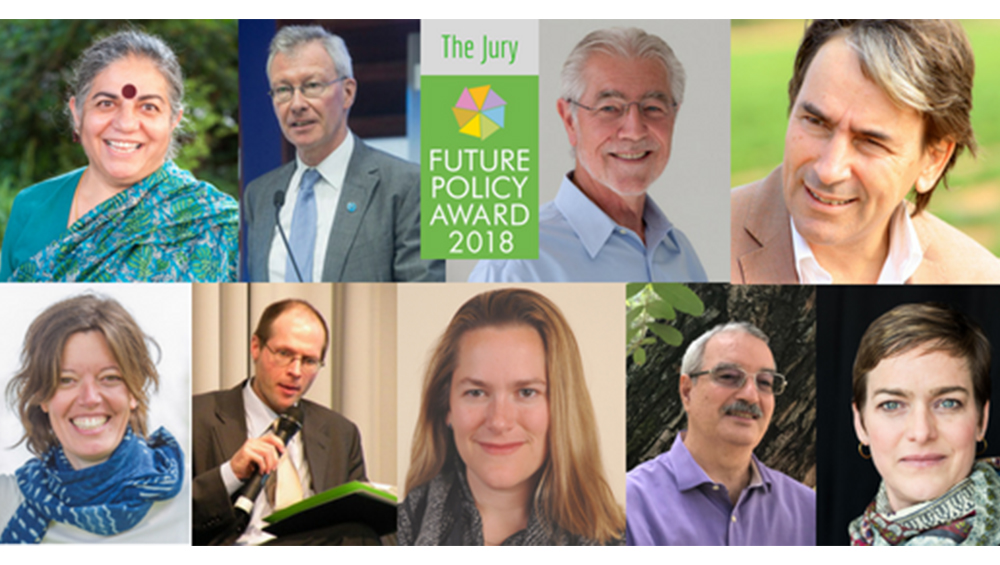 "Helmy Abouleish is jury member of the ""Future Policy Award"""