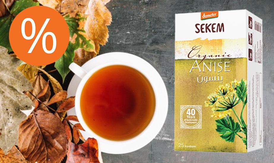 Mit SEKEM Anis Tee den Herbst einläuten