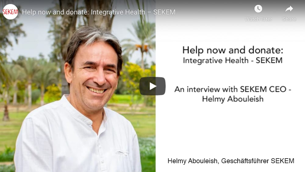 Helmy Abouleish on the Health Situation in Egypt