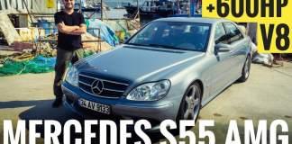mercedes s55 amg kompressor w220