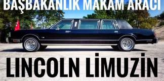 lincoln town car limo turgut özal
