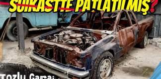 suikastte patlatılmış araç
