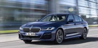Makyajlı BMW 5 Serisi