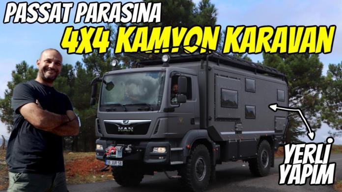 crawler otağ 600 karavan man tgm 18.290 4x4