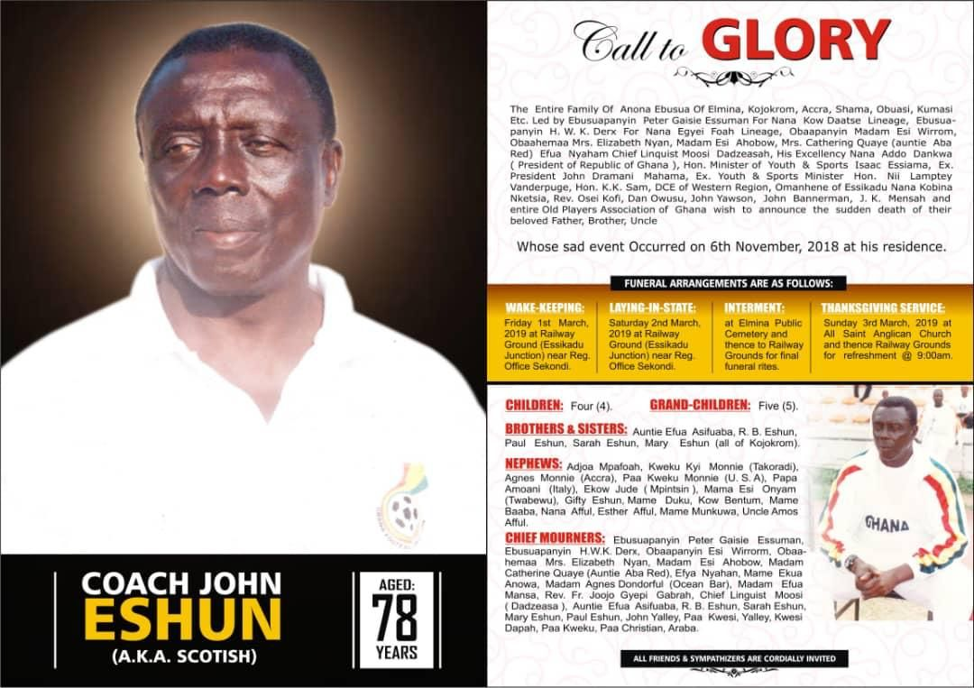 Media Watch: Facts about late John Eshun.