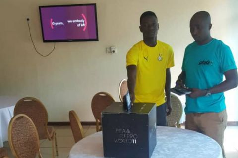 Sanah casts vote for FIFPro World XI