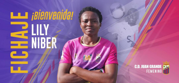 Lily signs for CD Juan Grande Femenino