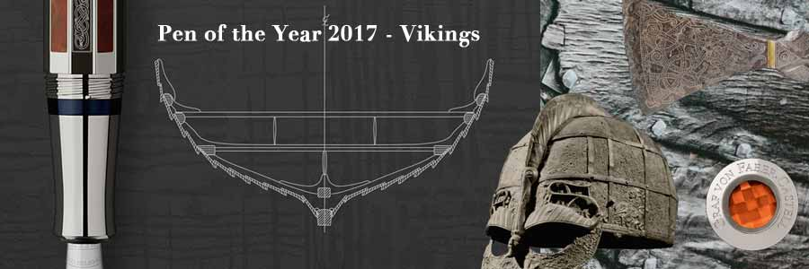 Garf von Faber-Castell - Pen of the Year 2017 - Vikings / Wikinger