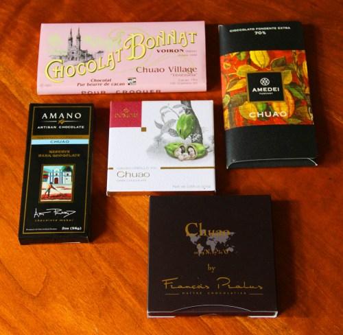 5 najlepszych czekolad Chuao