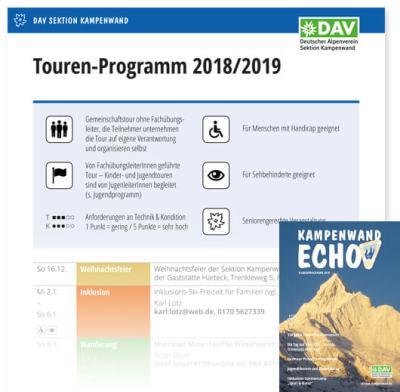 Touren- und Veranstaltungsprogramm 2018(2019