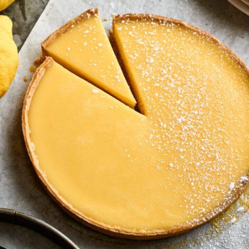 This vegan lemon tart will make you salivate