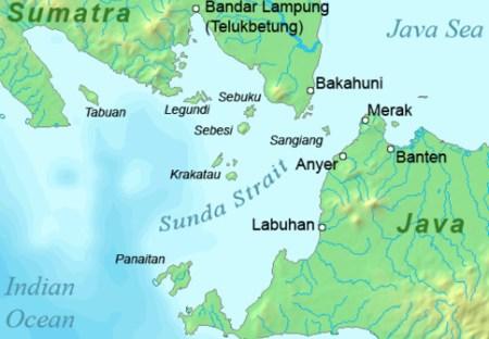 Peta Selat Sunda