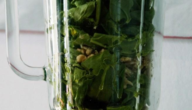 Spinat Walnuss Pesto