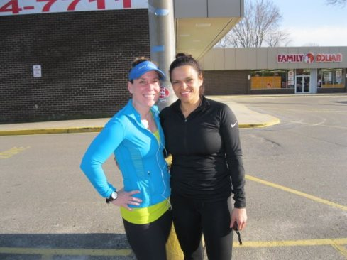 Heather and Nyree