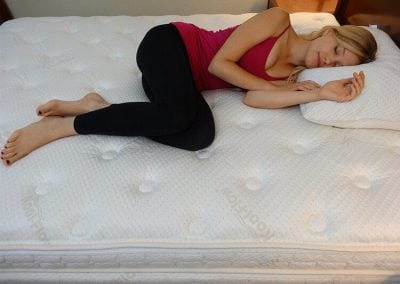 Luxurious, Soft Plush Pillow-Top Layer
