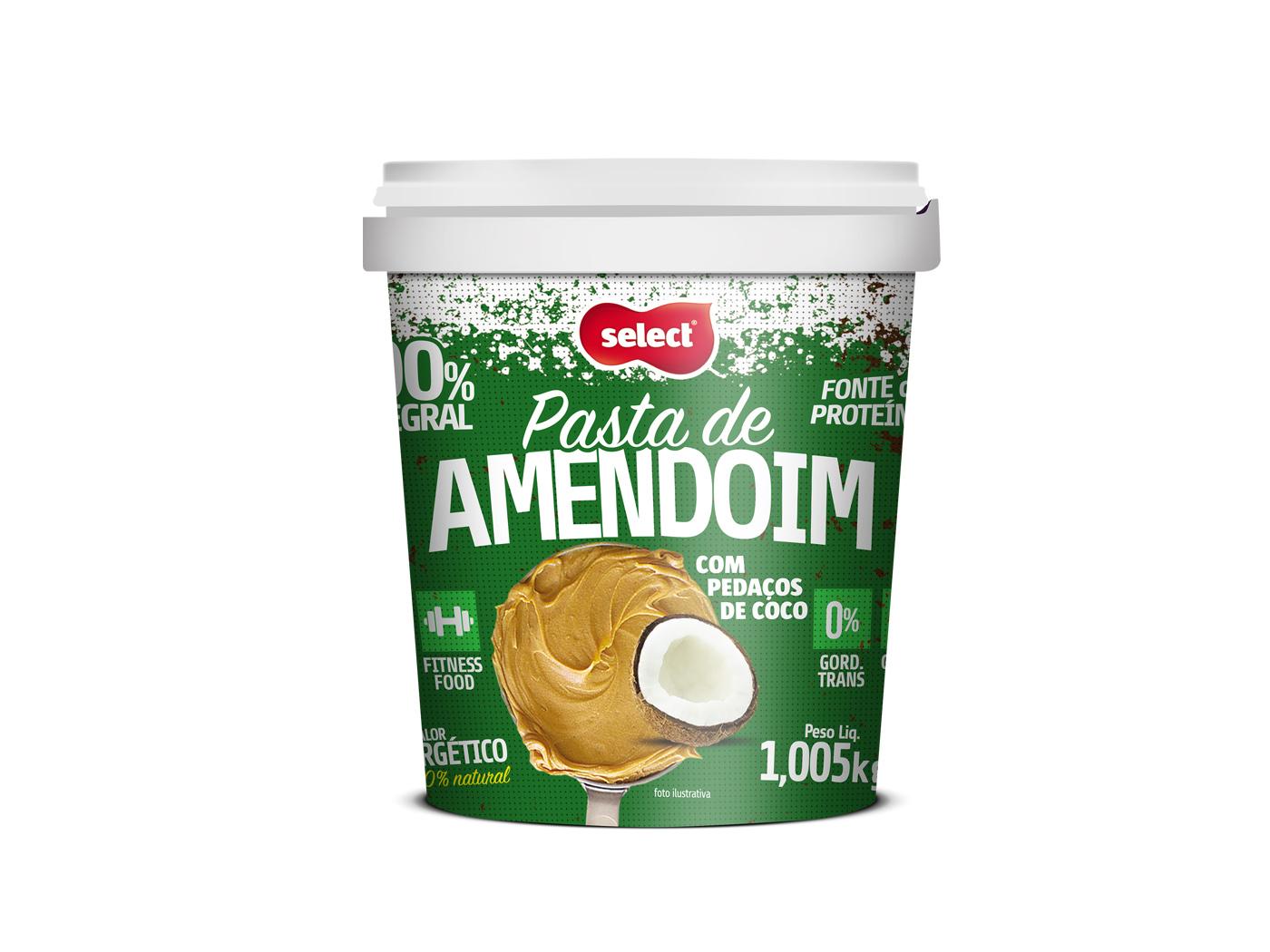 pasta de amendoim coco select