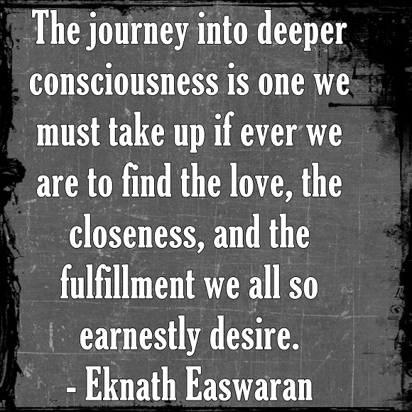 We all have a deep longing that only exploring within can satisfy.