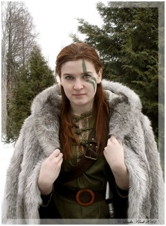 Cosplay de Skyrim - The Nord Isriana