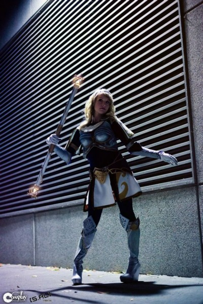 lux luxanna cosplay league of legends