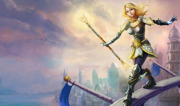 lux luxanna cosplay