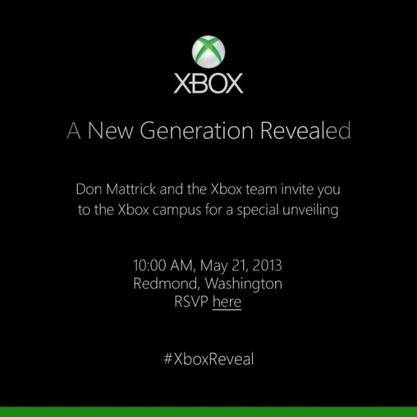 Next Xbox Invite Xbox 720