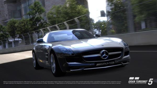 Mercedes-Benz SLS AMG GranTurismo 5