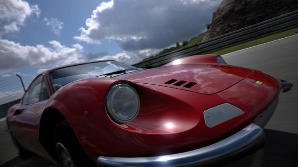 Gran Turismo 6 HDR Rendering Red Car